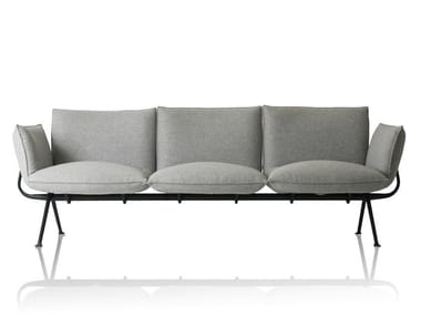 3 seater fabric sofa OFFICINA | 3 seater sofa