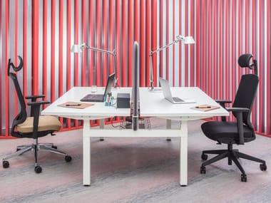 Multiple office workstation OGI DRIVE   Office workstation