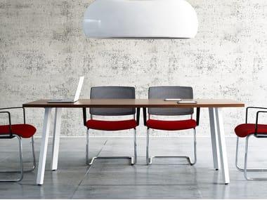 Rectangular meeting table OGI | Rectangular meeting table