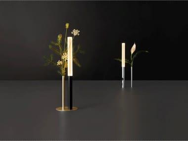 Lampe de table LED en métal sans fil avec dimmer OGNIDOVE | Lampe de table
