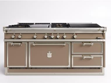 Profiküche aus Stahl OGS188 | Küchenherd