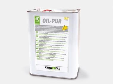 Vernici organiche per parquet OIL-PUR