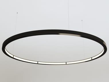 LED direct-indirect light aluminium pendant lamp OLALA