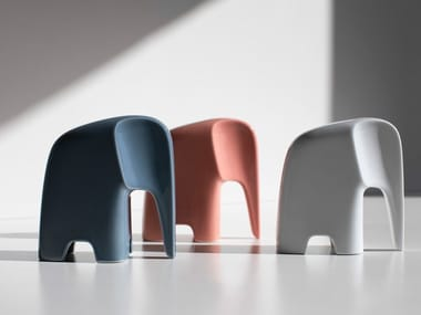 Porcelain decorative object OLIFANT | Porcelain decorative object