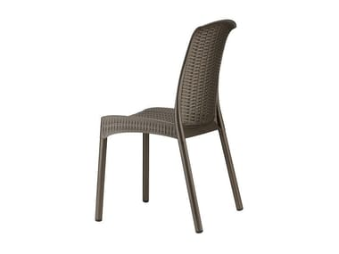 Ergonomic stackable technopolymer chair OLIMPIA TREND | Chair