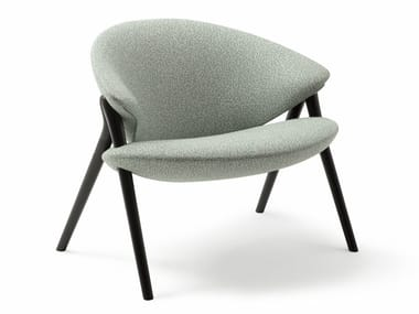 Fabric easy chair with removable cover OLIVA