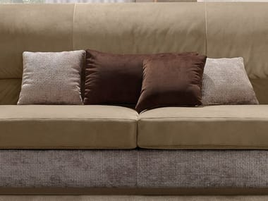 Solid-color fabric sofa cushion OLIVER | Solid-color cushion