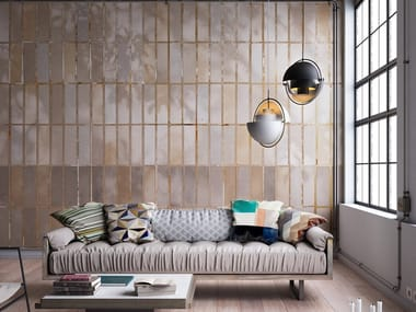 Papel de parede ecológico com efeito de tijolos OLTREBRICK