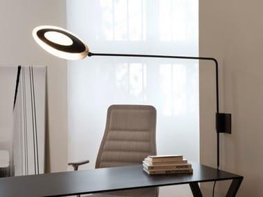 LED adjustable polycarbonate and aluminium wall lamp OLYMPIA | Adjustable wall lamp