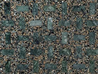 Marble grit flooring OMAGGIO A SCARPA - VERDE