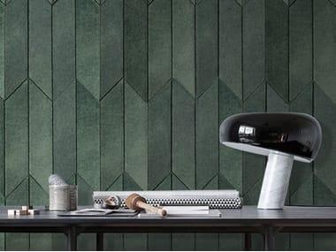 Indoor leather wall tiles OMNIA