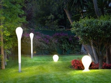 Lampada da terra a LED in polietilene ONA 6198