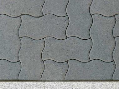 Concrete paving block ONDA