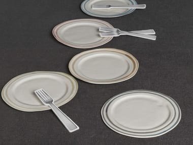 Porcelain plate ONDA | Plate