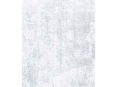 Handmade rectangular rug ONE GREY