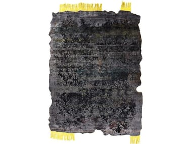 Rectangular silk rug ONEOFAKIND_REBORN