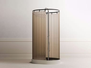 Cabina de ducha independiente con plato ONEWEEK | Cabina de ducha