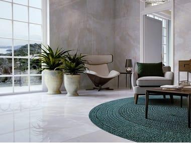 Pavimento/rivestimento in gres porcellanato effetto pietra ONICI