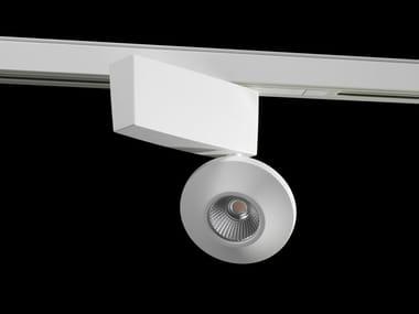 Illuminazione a binario a LED in alluminio verniciato a polvere ONIS BAR
