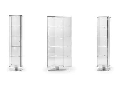 Vetrina in vetro con illuminazione integrata ONIS   Vetrina