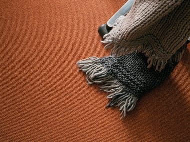 Solid-color fireproof fabric carpeting ONIX