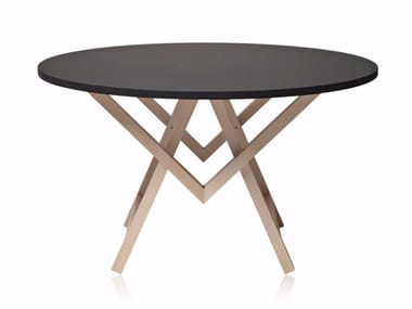Round wooden table ONLY ONE TABLE