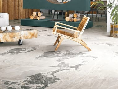 Porcelain stoneware wall/floor tiles with stone effect ONYX&MORE
