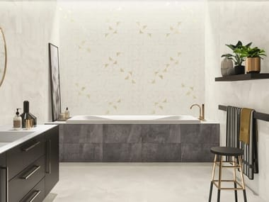 Porcelain stoneware wall/floor tiles with stone effect ONYX