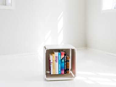Open bookcase OPE - SINGLE WHITE SPACE