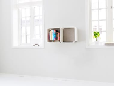 Open horizontal wall cabinet OPE - TWO SPACES SIDE BY SIDE