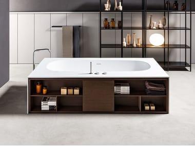 Vasca Da Bagno Sottopiano : Vasche da bagno rettangolari in makril archiproducts