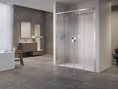 Box doccia a nicchia con porta scorrevole OPERA 2A