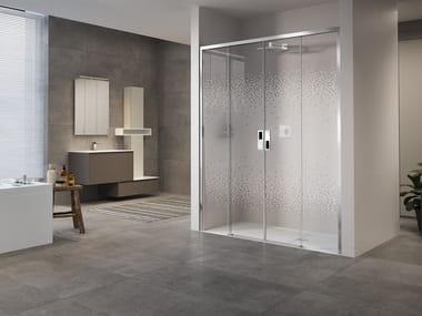 Box doccia a nicchia con porta scorrevole OPERA | 2A