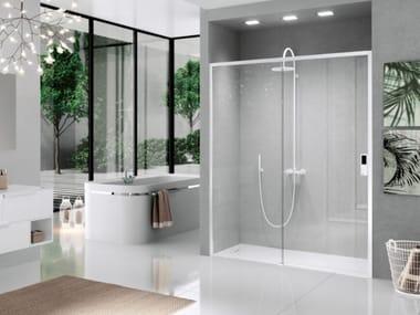 Box doccia a nicchia con porta scorrevole OPERA   2P