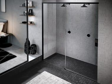 Box doccia a nicchia con porta scorrevole OPERA 2PH