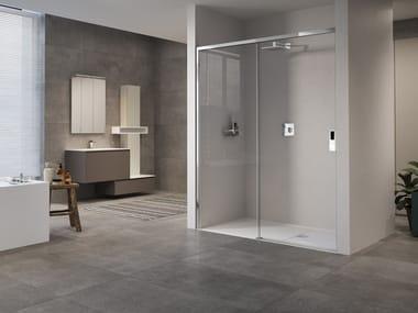Box doccia a nicchia con porta scorrevole OPERA | 2PH
