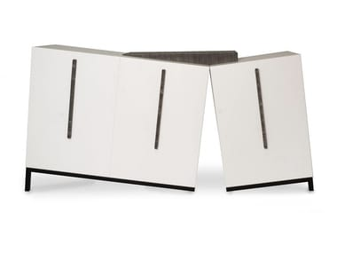 Lacquered MDF sideboard with drawers OPS