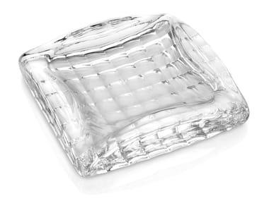 Glass ashtray OPTIC | Ashtray