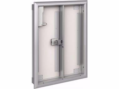 Natural ventilation hse OPTONE + GRILLE 2 doors