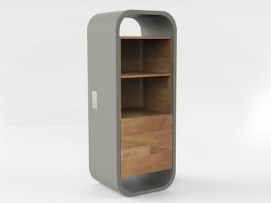 Concrete and wooden minibar OPUS POTARE