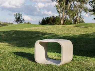 Concrete bench OPUS SOLO