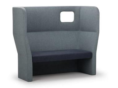 2 seater high-back sofa ORACLE | High-back sofa