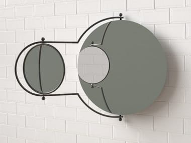 Wall-mounted mirror ORBIT
