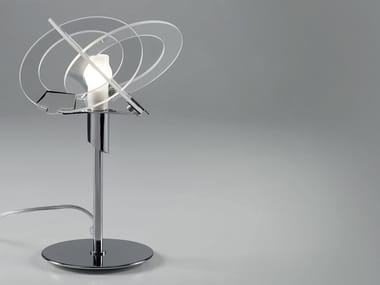 Glass table lamp ORBIT | Table lamp