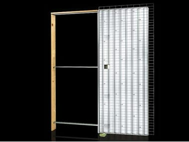 Counter frame for single sliding door ORCHIDEA LIGHT | Counter frame for single sliding door