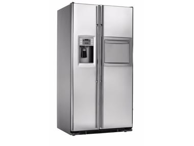 American style no frost stainless steel refrigerator with ice dispenser Class A + ORE 24 CHF SS/SS X