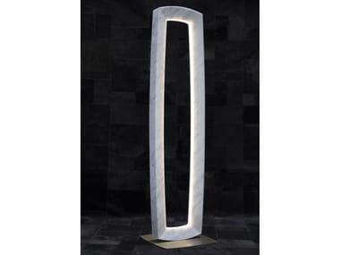 LED Carrara marble floor lamp OREADI - OR1 | Floor lamp