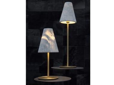 Lampada da tavolo in marmo di Carrara OREADI - OR3/OR4   Lampada da tavolo