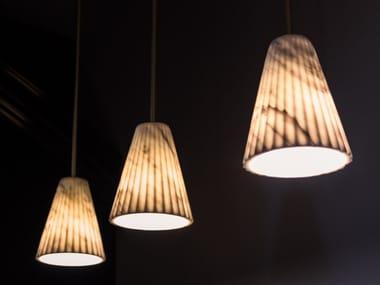 Lampada da soffitto in marmo di Carrara OREADI - OR30 | Lampada da soffitto