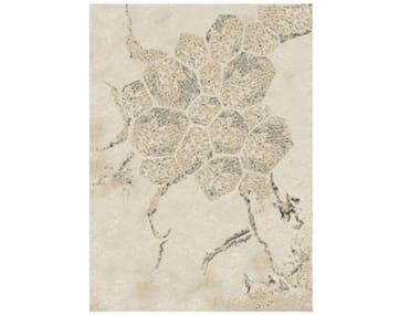 Rectangular wool rug ORGANI